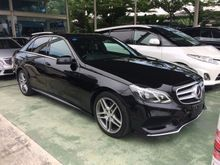 2014 unreg Mercedes-Benz E250 2.0 CGI  Avantgarde AMG Spec New Facelift Model ,Call for best Offer
