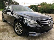 2013 Mercedes-Benz E250 2.0 Avantgarde FACELIFT (A) UNREG