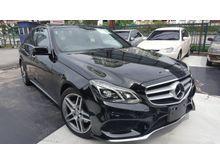 2014 Mercedes-Benz E250 2.0 AMG SPORT FACELIFT PANROOF UNREG