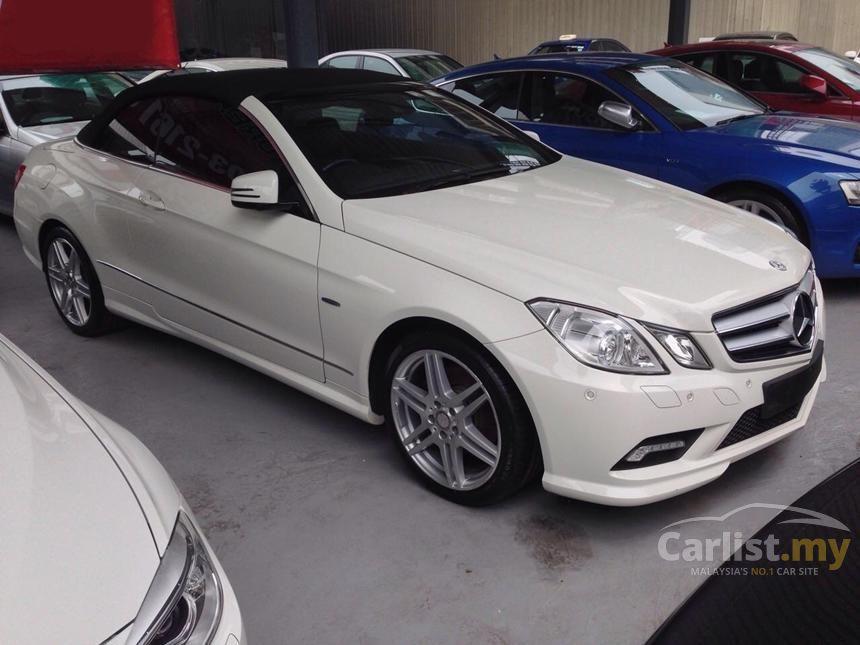 Mercedes benz e250 cabriolet 2012 in kuala lumpur for 2012 mercedes benz e350 convertible