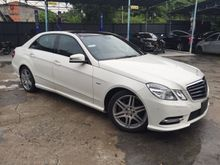 2012 Mercedes-Benz E250 CGI 1.8 AMG PANAROMIC ROOF FULL SPECS UNREG-GST INCLUSIVE-ONE YEAR WARRANTY-STOCK CLEARENCE