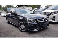 2014 Mercedes-Benz E250 CGI 2.0 Sedan AMG Sport NFL Radar Safety 7G Tronic Unreg