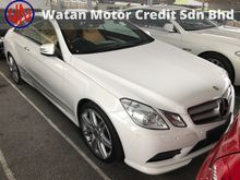 MERCEDES BENZ E250 1.8 AMG COUPE CGI TURBO 7G ACTUAL YR 13 PANOROOF HARMAN KARDON KEYLESS PUSHSTART MEMORY LEATHER BUCKET PARKTRONIC REVERSE CAM UNREG