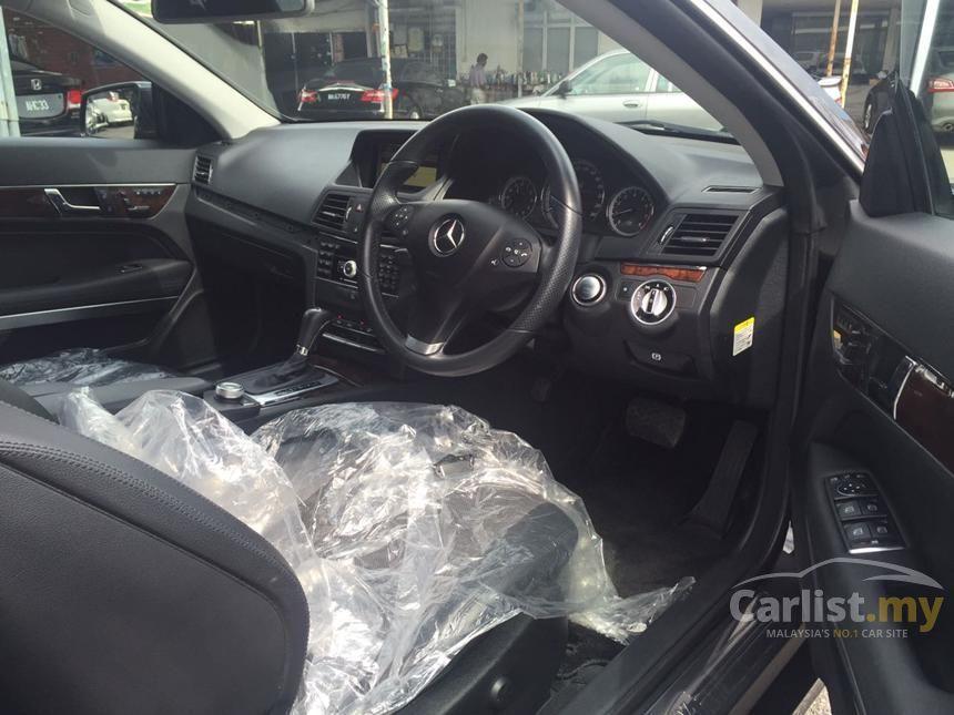 2011 Mercedes-Benz E250 Coupe