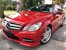2013 Mercedes-Benz E250 COUPE AMG (A) UNREG