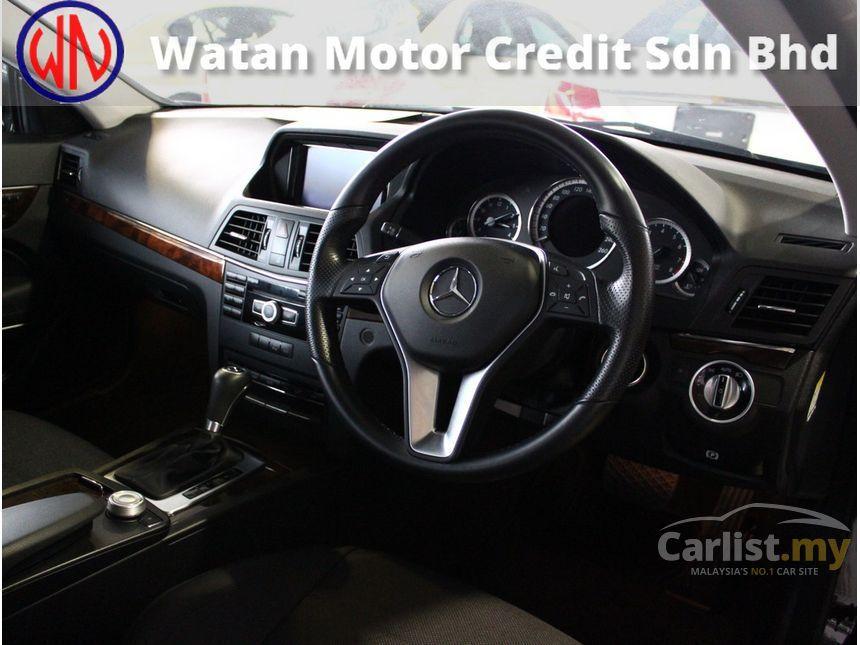 2012 Mercedes-Benz E250 Coupe