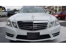 2013 Mercedes-Benz E250 1.8 AMG SPORT RADAR SAFETY UNREG