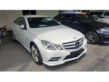 2012 Mercedes-Benz E250 Coupe