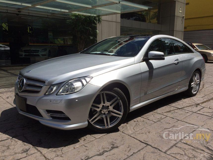 MercedesBenz E250 Coupe 2012 in Kuala Lumpur Automatic Silver for