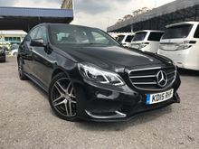 2015 Mercedes-Benz E250 2.0 NIGHT Edition HIGH SPEC WITH PANAROMIC ROOF AND PUSH START BUTTON   PRICE NEGO NEGO UNTIL LET GO