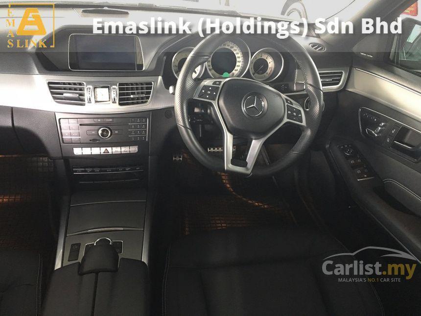 2015 Mercedes-Benz E250 Edition E Sedan