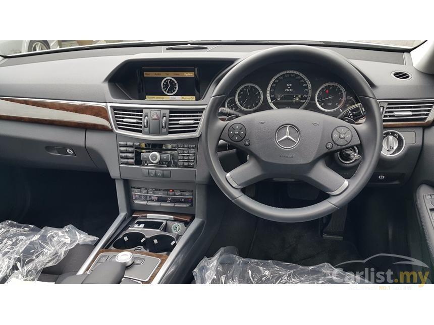 2011 Mercedes-Benz E250 Sedan