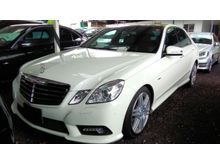 2011 Mercedes-Benz E250 1.8 CGI TURBOCHARGED AMG SPORT PACKAGE