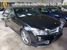 2014 Mercedes-Benz E250 2.0 AMG Spec Panamoric Roof Power Boot Rear Camera Local AP UNREG (PRICE INCL GST)