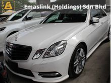 2012 Mercedes-Benz E250 1.8 AMG GST INCLUSIVE PRICE