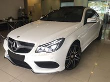 2014 Mercedes Benz E400 AMG SPORT LIMITED UNIT COUPE