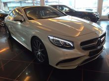 2015 MERCEDES BENZ S63 5.5L AMG LINE COUPE * ULTRA SPEC * PANORAMIC ROOF * BURMESTER * SURROUND CAMERA * DISTRONIC * HUD * NIGHT VIEW ASSIST *