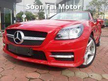2012 Mercedes-Benz SLK200 1.8 BlueEFFICIENCY Convertible UK Spec Unregistered