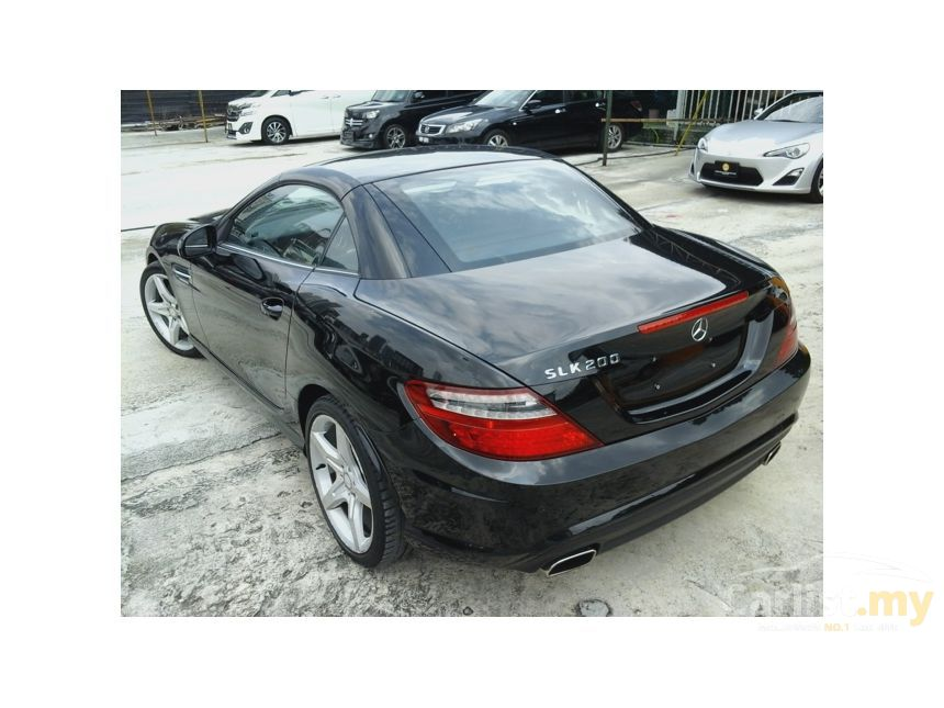 2012 Mercedes-Benz SLK200 BlueEFFICIENCY Convertible