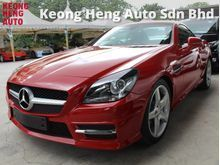 2014 Mercedes-Benz SLK200 1.8 (A) UNREG