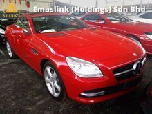 2013 Mercedes-Benz SLK200 1.8 BlueEFFICIENCY Panoramic Roof Unregistered