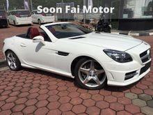 2014 Mercedes-Benz SLK200 1.8 BlueEFFICIENCY Convertible