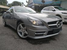 2014 Mercedes-Benz SLK200 1.8 AMG Convertible UNREG