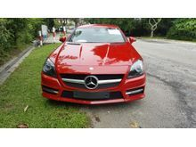 2013 Mercedes-Benz SLK200 AMG Convertible