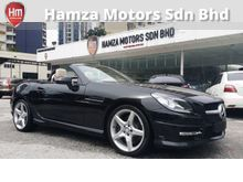 2012 Mercedes Benz SLK 200 AMG Convertible with Sunroof Unregister
