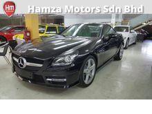 2012 Mercedes-Benz SLK200 1.8 AMG Sport Panoramic Roof Unreg