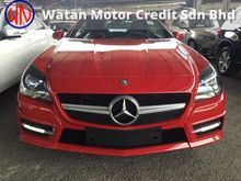 Mercedes-Benz SLK200 CGI AMG Convertible,HI-SPEC,RED SEAT BELT,MOON ROOF,ORI AMG BODYKIT N 18*RIM,LED DAYLIGHT,ACTUAL YEAR N CAN PROVE 13-UNREGISTER