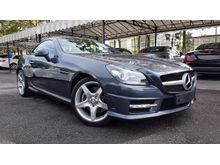 2014 Mercedes-Benz SLK200 1.8 BlueEFFICIENCY Convertible AMG Sport Unreg