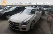 2012 Mercedes-Benz SLK250 1.8 AMG SPORT PACKAGE UNREGISTERED