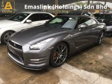 2013 Nissan GT-R GTR R35 Black Edition 3.8 V6 Twin Turbo New Facelift Power Seat Blistein Suspension Brembo Brake Xenon LED Paddle Shift Unreg