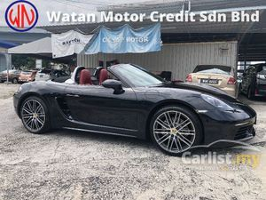 2017 Porsche 718 Boxster 2.0 Turbo 300hp PDK PCM Keyless Entry Memory Bucket Seat Multi Function Paddle Shift Steering Xenon LED Headlamp Unreg
