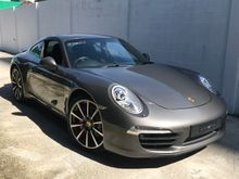 2013 Porsche 911 3.8 Carrera S Sport Chrono Sport Exhaust Uk UNREG