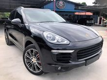 2015 Porsche Cayenne 3.6 S V6 TWIN TURBO NEW FACELIFT PANORAMIC ROOF PASM POWER BOOT FULL SPEC UNREGISTER INCLUDED GST OFFER PRICE