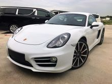 2013 Porsche Cayman 2.7 Coupe FLAT-SIX CARRERA CLASSIC WHEELS FULL SPEC UNREGISTER INCLUDED GST OFFER PRICE