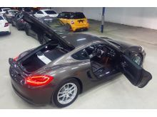 2013 PORSCHE CAYMAN 2.7A PDK UK SPEC UNREGISTERED SELLING PRICE RM 358,000.00 BROWN COLOR ( 1840 )