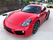 2014 Porsche Cayman 3.4 S Coupe SPORT STEERING BOSE SOUND FULL SPEC UNREG PROMOTION BIG DISCOUNT