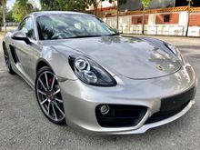 2013 Porsche Cayman S 3.4 SPORT CHRONO (A) UNREG