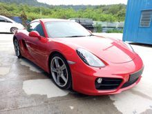 2014 Porsche Cayman 3.4 S Coupe ** BOSE SOUND SYSTEM ** PARKING SENSOR ** SPORT BUTTON ** PADDLE SHIFT ** AUTO SPOILER **