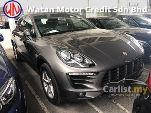 2014 Porsche Macan 2.0 Turbo PDK AWD Japan Spec Xenon Headlamp Power Bucket Seat Paddle Shift Steering Power Boot Bluetooth Unreg
