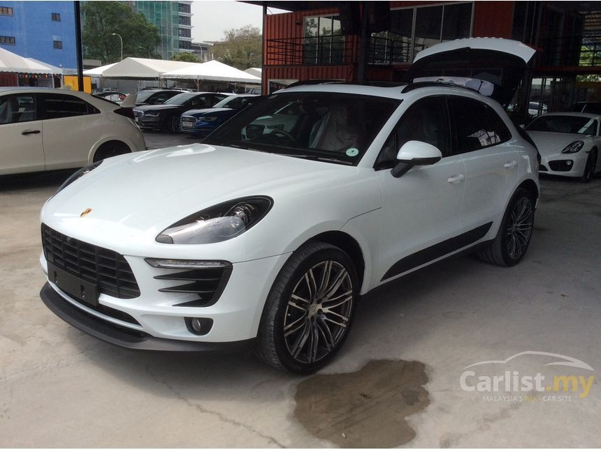 Porsche Macan 2015 20 in Selangor Automatic SUV White for RM