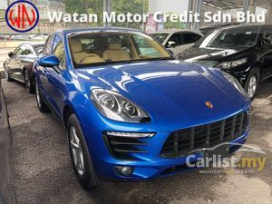 2016 Porsche Macan Original Super Low Mileage Like New 2.0 Turbo PDK BOSE Premium Sound LED Headlamp Paddle Shift Power Boot Sport Mode Unreg