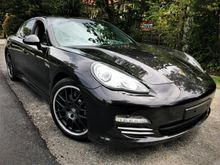 2012 Porsche Panamera 3.6 4 Sport Chrono Rear Entertainment Bose Sound System UK UNREGISTER