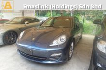 2012 Porsche Panamera 3.6 Sunroof Power Boot Electric Seat Unregistered GST INCLUSIVE PRICE