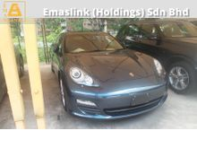 2012 Porsche Panamera 3.6 Sunroof Powerboot Unreg Local AP (PRICE INCL GST)