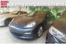 2012 Porsche Panamera 3.6  (a) --RECOND SUNROOF 2 MEMORY BUCKET LEATHER SEATS REVERSE CAMERA POWER BOOT BLUETOOTH 19 ALLOY WHEELS 1 YEAR GMR WARRANTY
