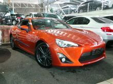 Unregistered 2013 Toyota 86 2.0 GT Coupe